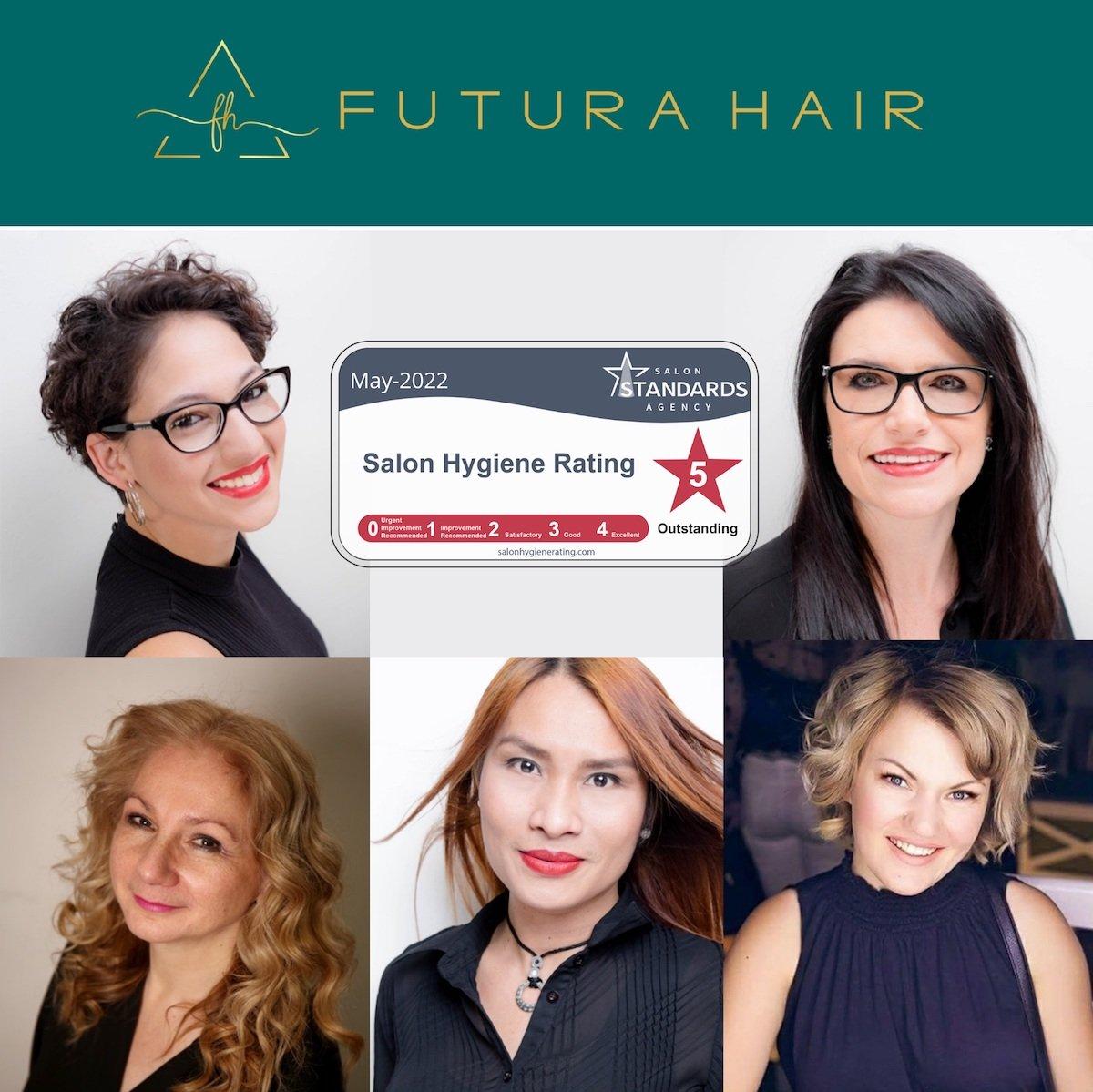 Futura Hair First In City To Win Hygiene Award