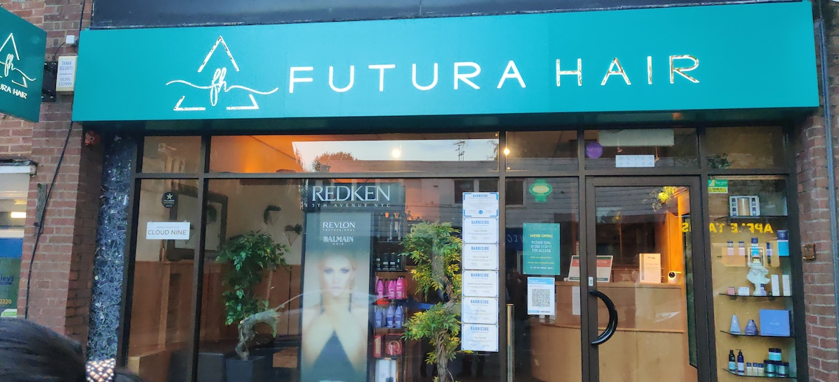 Futura Hair Award Winning salon in Exeter